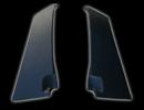 Накладки на стойки дверей под карбон