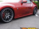 INGS N-SPEC Side Step Карбон Nissan 370Z 09-14