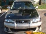 Карбоновый капот для Nissan Sentra 2000-2003 EVO Стиль