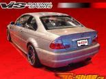 Задний бампер на BMW E46 2001-2005 стандартный
