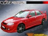 Пороги Fuzion для Mazda Protege 2001-2003