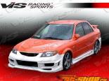Пороги на Mazda Protege 2001-2003 Tranz