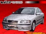Пороги Euro Tech для Volvo S 60 2001-2005