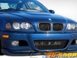 Передняя губа на BMW E46 2001-2006 AC-S Карбон