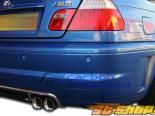 Задний диффузор для BMW E46 01-06 AC-S Карбон