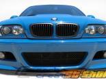 Передняя губа для BMW E46 2001-2006 HM-S Карбон
