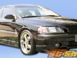 Передняя губа на Volvo S60 2001-2004 Speedzone Duraflex