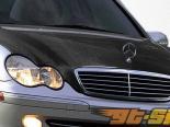 Карбоновый капот стандартный на Mercedes C Class W203 2001-2007