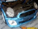 Карбоновый капот для Mini Cooper S 2002-2006 стандартный Стиль