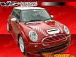 Накладка на капот для Mini Cooper 2002-2007 Карбон