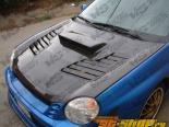 Карбоновый капот для Subaru WRX 2002-2003 Tracer Стиль