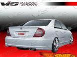 Задняя губа для Toyota Camry 2002-2004 J Speed