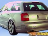 Пороги для Audi A4 06-08 OTG Duraflex