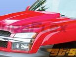 Пластиковый капот для Chevrolet Avalanche 02-06 Cowl Стиль