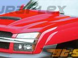 Пластиковый капот на Chevrolet Avalanche 02-06 Ram Air Стиль