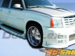 Передний бампер на Cadillac Escalade 02-06 Platinum Duraflex