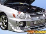 Передняя губа для Subaru Impreza 2002-2003 C-1 Duraflex