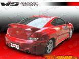 Задние накладки на крылья для Hyundai Tiburon 2003-2006 Rally
