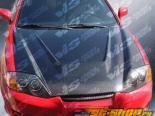 Карбоновый капот для Hyundai Tiburon 2003-2006 Invader Type 6 Стиль