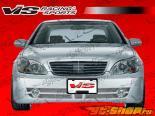 Передний бампер для Mercedes W220 2000-2006 Laser F1