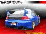 Задняя губа для Mitsubishi Evolution 2003-2007 Z Speed Карбон