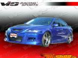 Пороги для Mazda 6 2003-2007 K Speed
