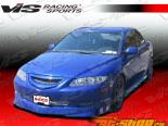 Пороги для Mazda 6 2003-2007 Techno R
