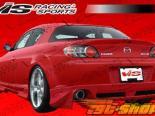 Задняя губа для Mazda RX8 2003-2008 Invader Полиуретан
