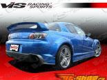 Задняя губа для Mazda RX8 2003-2007 Magnum