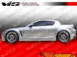 Пороги для Mazda RX8 2003-2007 Wings
