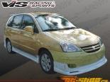 Пороги Wings для Suzuki Aerio SX 2003-2006