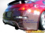 Задний бампер на Nissan 350Z 03-08 Drifter-2 Карбон