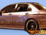 Задний бампер на Mitsubishi Evolution 8/9 03-07 GT500 Duraflex