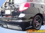 Задний бампер на Toyota Matrix 03-08 JDM Buddy Duraflex