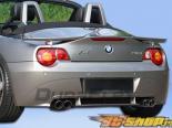 Накладка на задний бампер для BMW Z4 03-05 HM-S Duraflex
