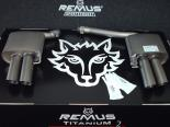 Remus Titanium2 Sport выхлоп Левый | Правый with Angled Quad 84 mm Tips AUDI S4 B8 Quattro Avant 8K 3.0l TFSI 10-14