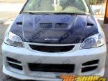 Карбоновый капот для Honda Civic 2004-2005 EVO Стиль