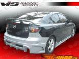 Аэродинамический Обвес для Mazda 3 2004-2008 Laser