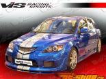 Пороги для Mazda 3 2004-2008 K Speed 2