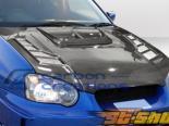 Карбоновый капот для Subaru Impreza 04-05 C-1 Стиль