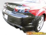 Задний бампер для Mazda RX-8 04-10 Fiber Карбон