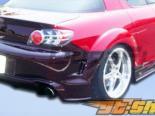 Задний бампер на Mazda RX-8 04-10 GT Competition Duraflex