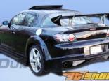 Задний бампер на Mazda RX-8 04-10 Vader Duraflex