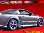 2005-2008 Ford Mustang 2 двери Stalker 2 Side Scoop