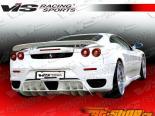 Спойлер для Ferrari F430 2005-2008 Euro Tech