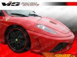 Губа на передний бампер для Ferrari F430 2005-2009 Scuderia Карбон
