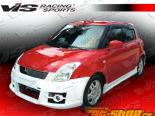 Пороги на Suzuki Swift 2005-2008 A Tech