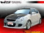 Пороги для Suzuki Swift 2005-2007 Fuzion