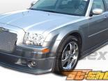 Губа на передний бампер для Chrysler 300C 05-10 VIP Duraflex