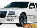 Губа на передний бампер для Chrysler 300 05-10 VIP Duraflex